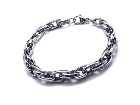 Pure Silver Bracelets For Men Men's Boy's Silver Charm Pure