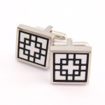Classical Titanium Square Cufflinks C-761