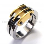 Two Loops Titanium Ring 18437