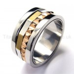 Gear Shape Titanium Ring 18446