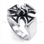 Classical Cross Titanium Ring 19250