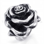 Classical Rose Titanium Ring 19253
