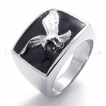 Classical Eagle Titanium Ring 19770