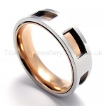 Hollowed Titanium Ring 20088