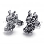 Dragon Titanium Earrings 20354