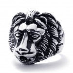 Lion Titanium Ring 20685