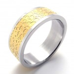 Gold Titanium Ring 20671