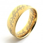Gold Lord Titanium Ring 20690
