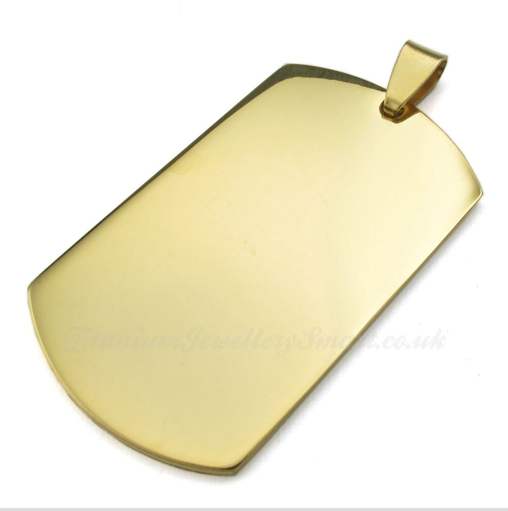 titanium gold cards pendant necklace free chain 163 29