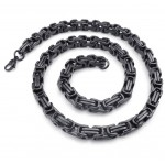Black Titanium Necklace
