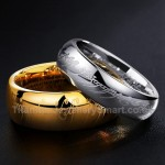 "Titanium ""The Lord of the Ring"" Mens Ring"
