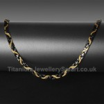 Titanium Mens Necklace