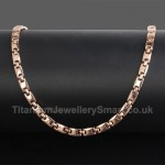 Titanium Rose Gold Necklace